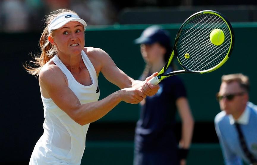 Мнение Женской теннисной ассоциации: Александра Саснович сотворила главную сенсацию сезона