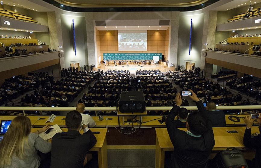 Индустриальный парк «Великий камень» презентовали на всемирном форуме в Швейцарии