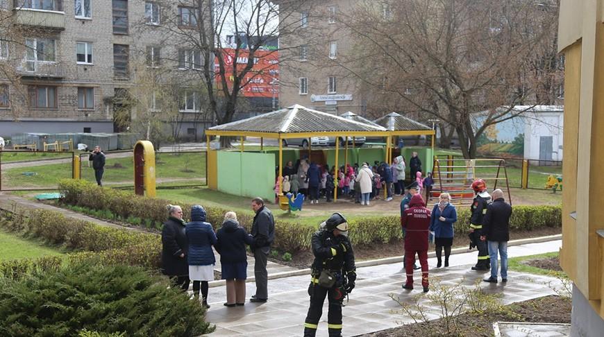 В Минске произошел пожар в детском саду. Эвакуировали 153 человека