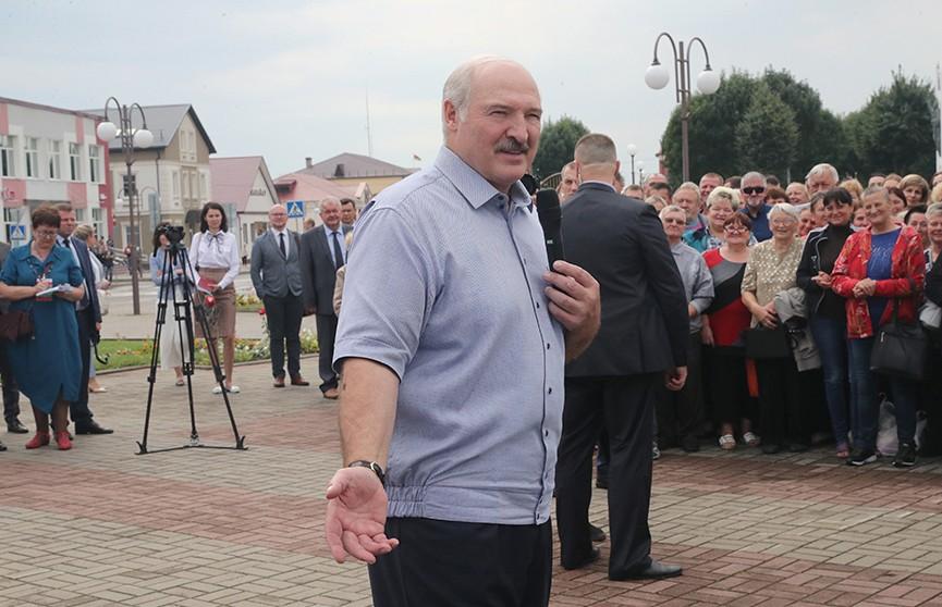Лукашенко: «Я второй раз за неделю попадаю в рай». Что порадовало Президента в Ивье