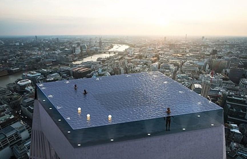 Не для аквафобов: бассейн с обзором в 360 градусов появится в Лондоне