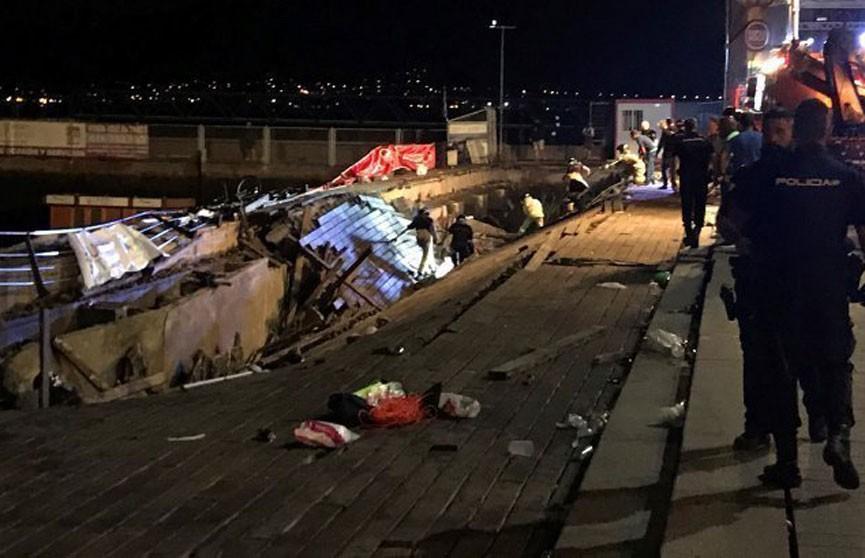 Более 300 человек пострадали при обрушении помоста на фестивале в Испании
