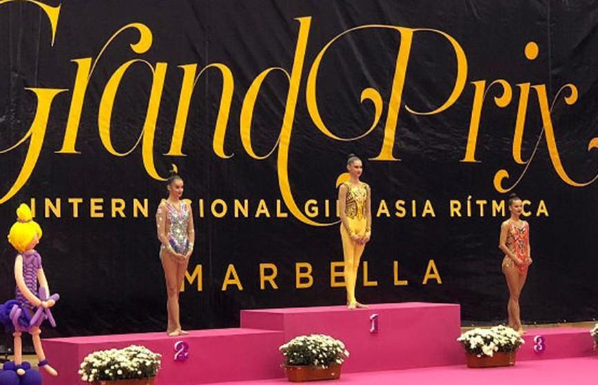 Белоруска Алина Горносько завоевала серебро Гран-при по художественной гимнастике в Марбелье