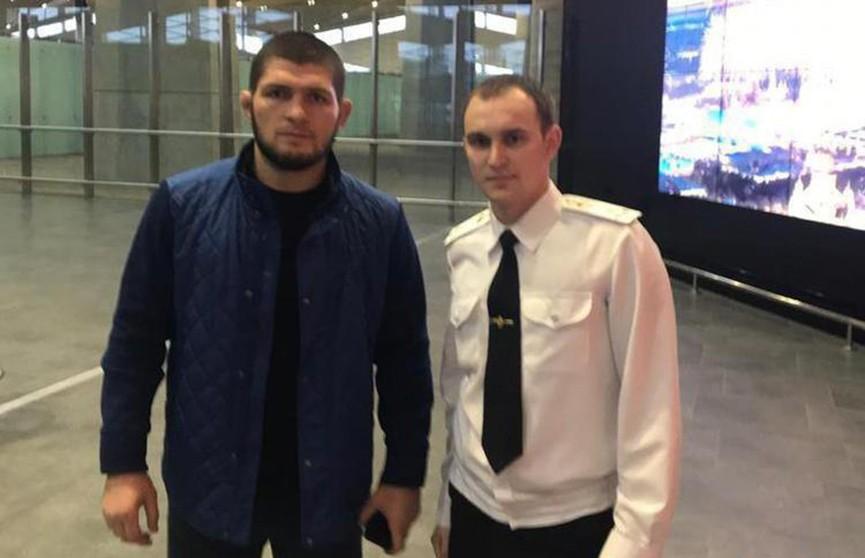 Хабиба Нурмагомедова задержали в московском аэропорту, заподозрив в нём боевика «Исламского государства»