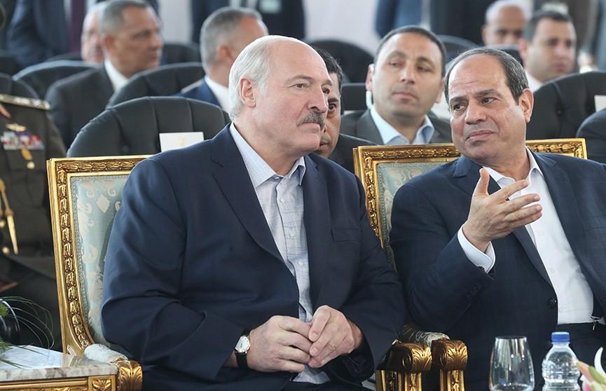 Многомиллионные контракты, развитие промышленной кооперации и сотрудничество в сфере высоких технологий. Первые итоги визита Президента Беларуси в Египет