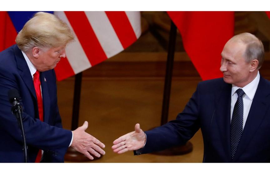 Дональд Трамп официально пригласил Владимира Путина в Вашингтон