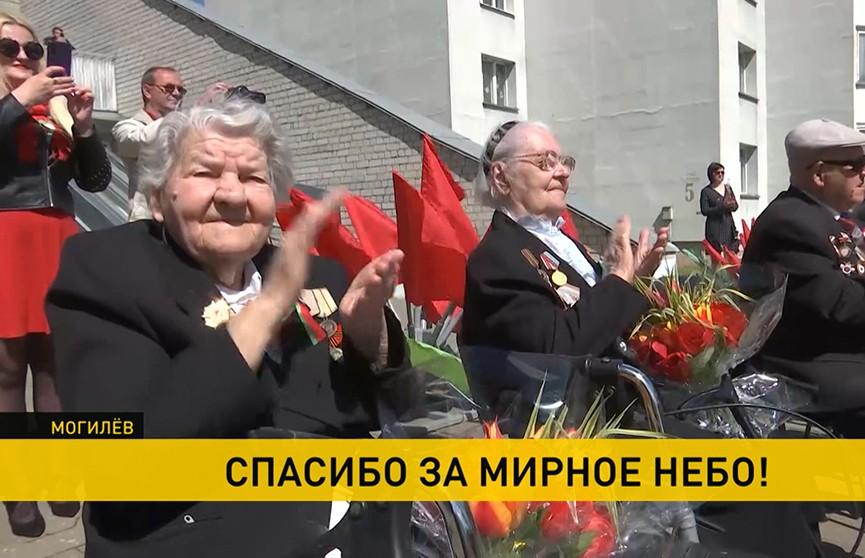 Как проходят торжества в честь Дня Победы по всей стране