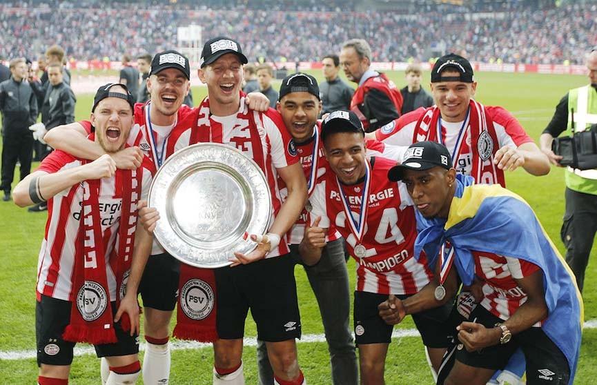 БАТЭ в случае выхода в плей-офф квалификации Лиги чемпионов сыграет с голландским ПСВ
