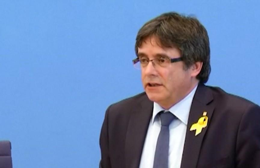 Карлос Пучдемон переезжает из Германии в Бельгию