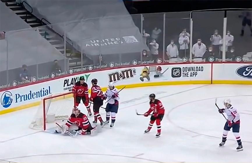 «Нью-Джерси Дэвилз» с Егором Шаранговичем в составе проиграл «Вашингтону» в чемпионате НХЛ