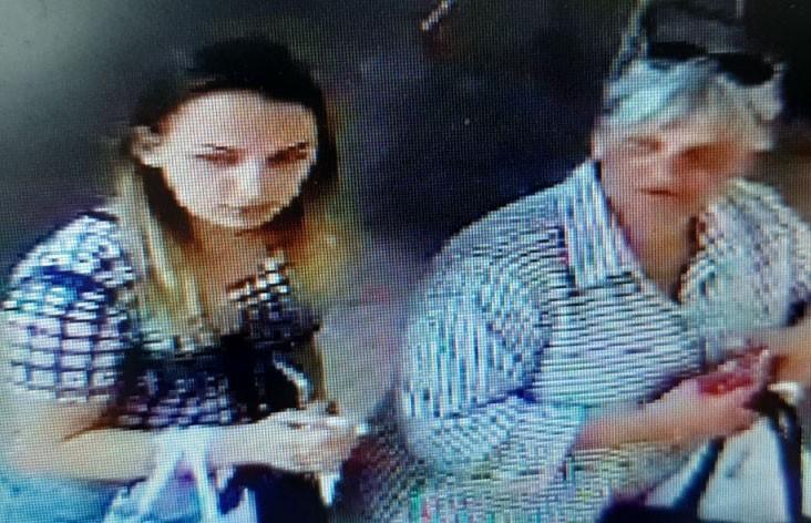 Разыскиваются две женщины, устроившие себе шоппинг за чужой счёт