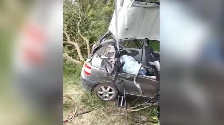 Страшная авария под Мостами: погибли две девочки