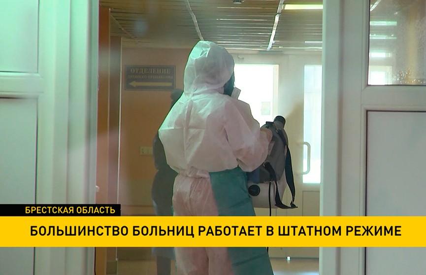 Большинство белорусских больниц вернулись к штатному режиму работы