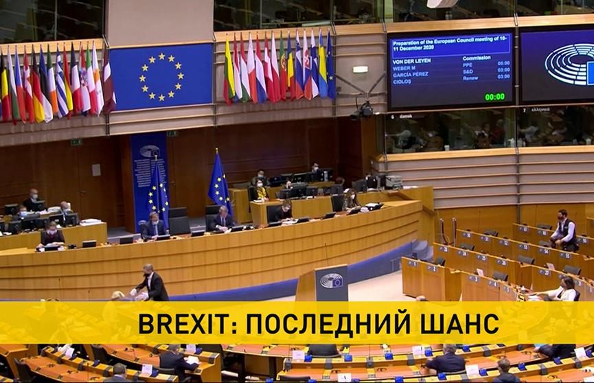 Премьер Великобритании и глава Еврокомиссии планируют решить судьбу торгового соглашения