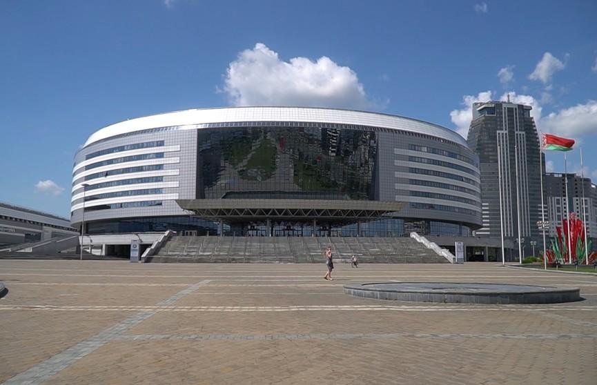 «Минск-арена»: Михаил Прокопенко рассказал все о здании, где проходят соревнования международного класса и концерты