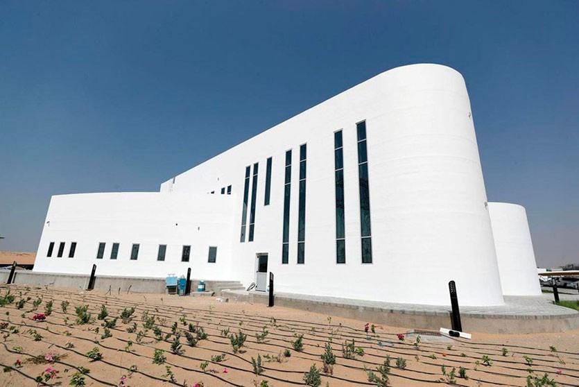 Распечатанное на 3D-принтере здание в Дубае оказалось в два раза дешевле своих «традиционных» аналогов