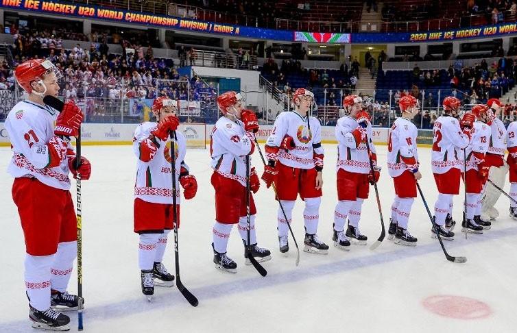 Сборную Беларуси (U20) расформируют и снимут с хоккейного чемпионата республики