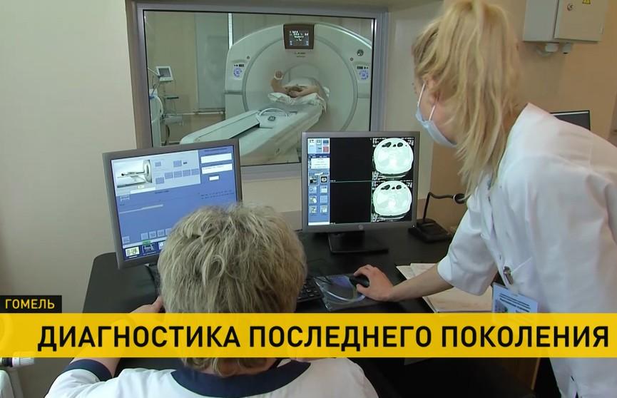 Кабинет рентгеновской компьютерной томографии открыли в больнице Гомеля