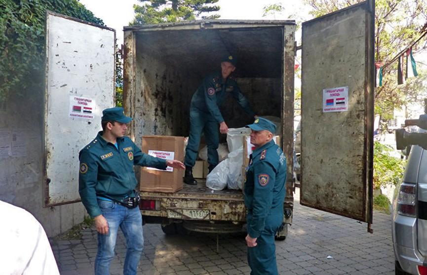 Беларусь отправит в Сирию гуманитарный груз почти на миллион рублей