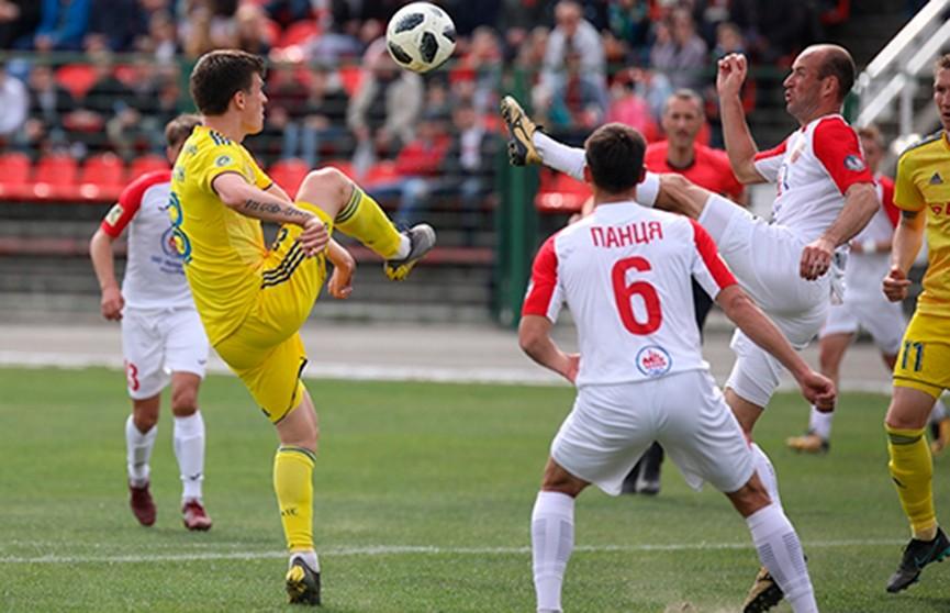 БАТЭ одержал волевую победу над «Славией» из Мозыря в чемпионате Беларуси