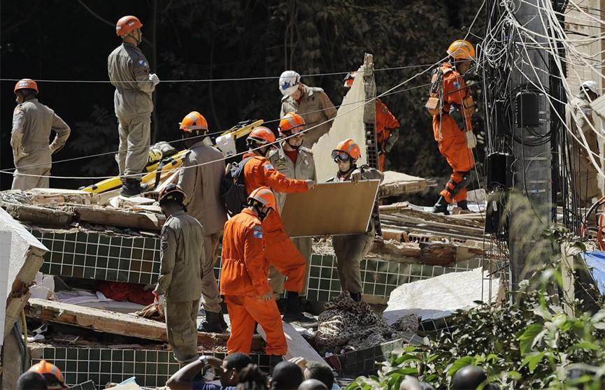Два здания обрушились в Бразилии, есть жертвы
