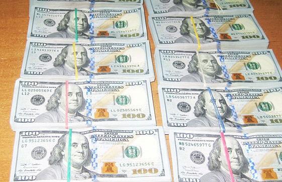 Украинец пытался тайно вывезти из Беларуси 100 тысяч долларов (ВИДЕО)