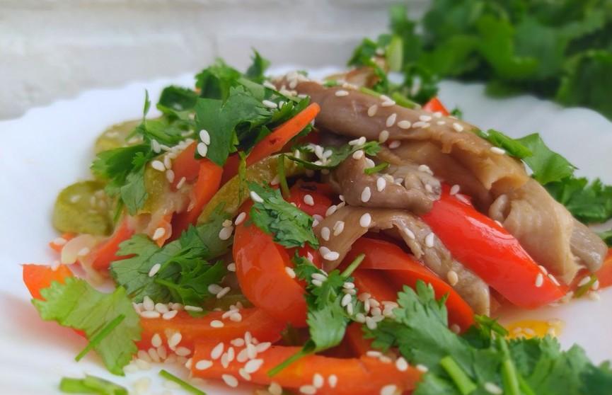 Тушеные грибы с овощами. Невероятно вкусное блюдо, от которого вы будете в восторге!