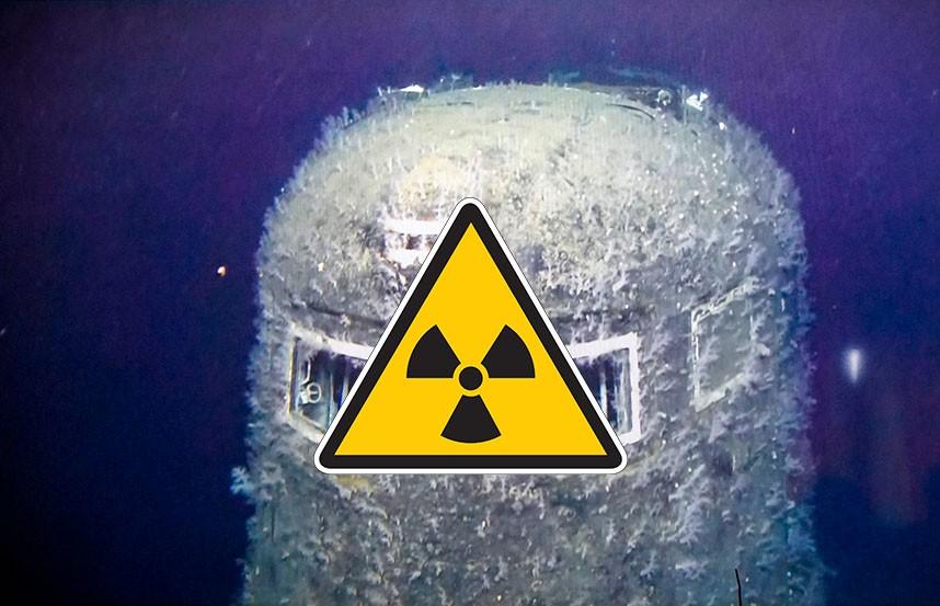 Уровень радиации превышен в 100 тысяч раз на месте затонувшей советской подлодки в Норвегии