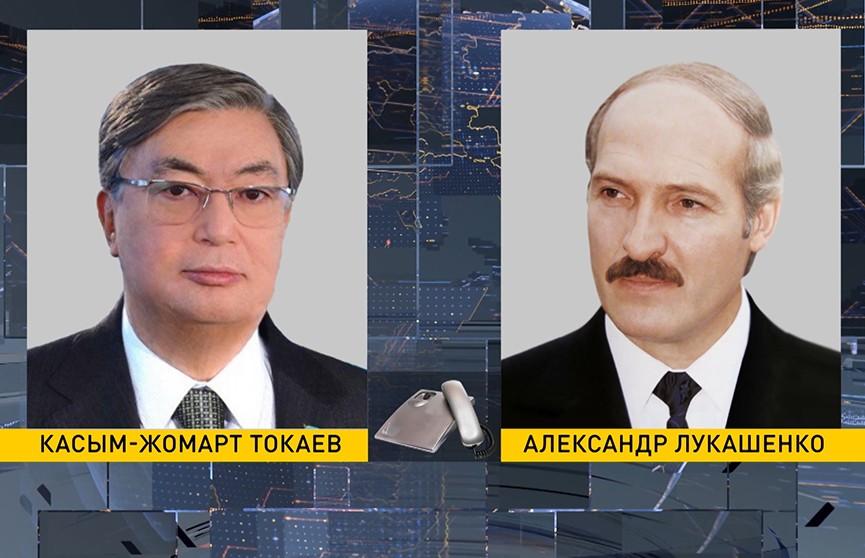 Состоялся телефонный разговор президентов Беларуси и Казахстана