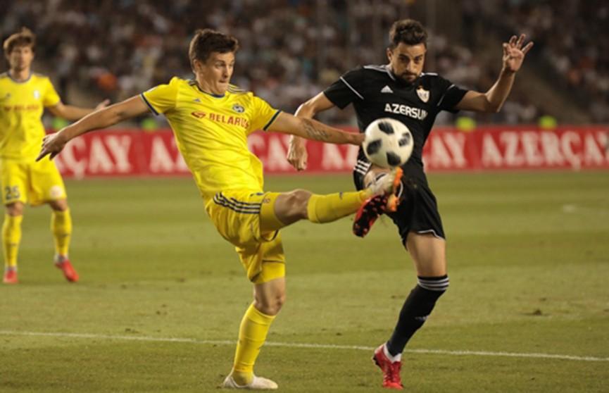 БАТЭ переиграл азербайджанский «Карабах» в Лиге чемпионов