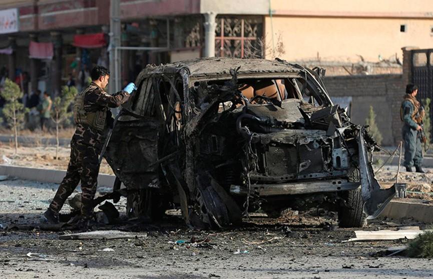 Взрыв в Кабуле прогремел возле здания МВД