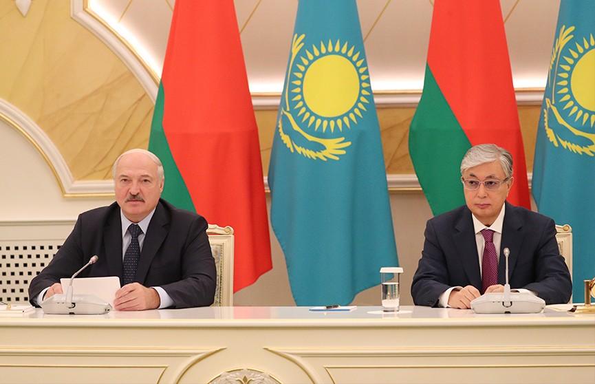 Лукашенко: Беларусь всегда будет надёжным партнёром для Казахстана