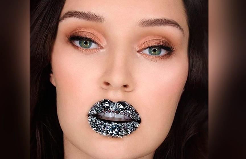 Губы-бриллианты или cамый дорогой макияж