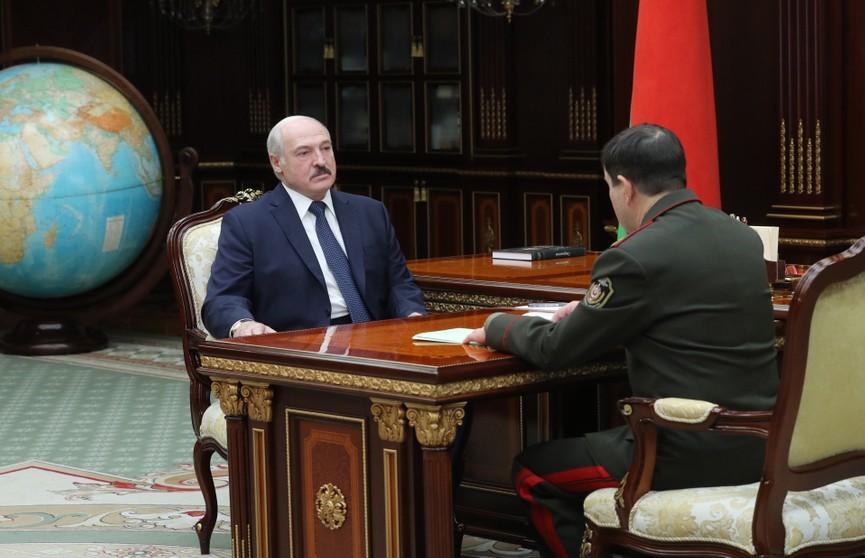 «Майданов в Беларуси не будет»: Лукашенко провел встречу с председателем КГБ