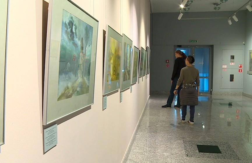 В Минске открылась выставка графики Фёдора Киселёва «Акварельная элегия»