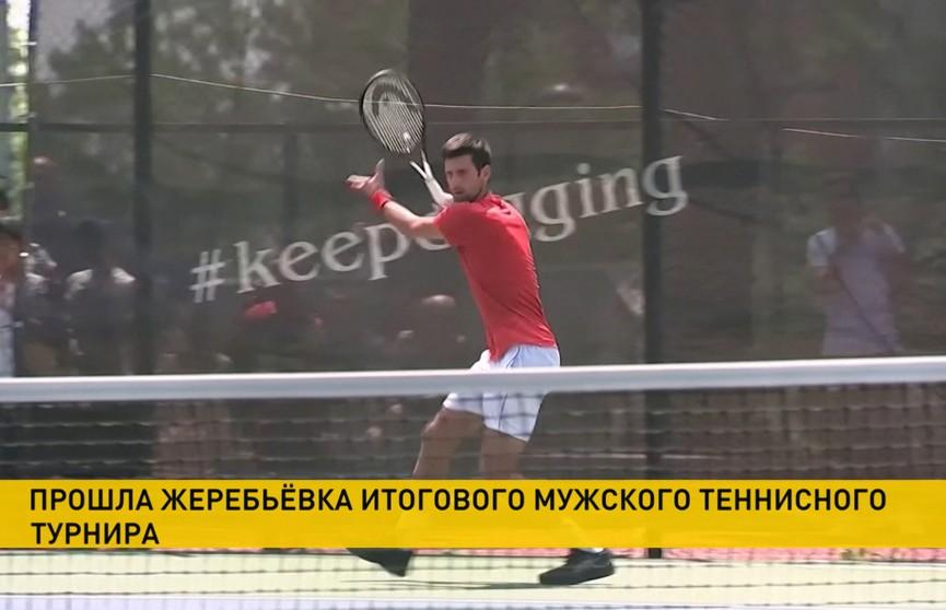 Даниил Медведев сыграет в одной группе с первой ракеткой мира Новаком Джоковичем в турнире АТР