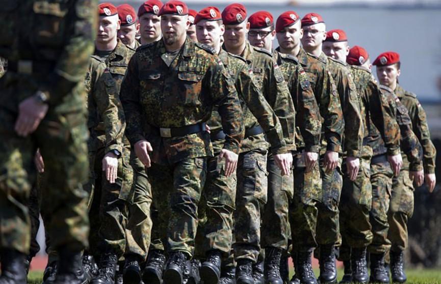 Беженцев предложили привлекать к регулярной военной службе в Германии