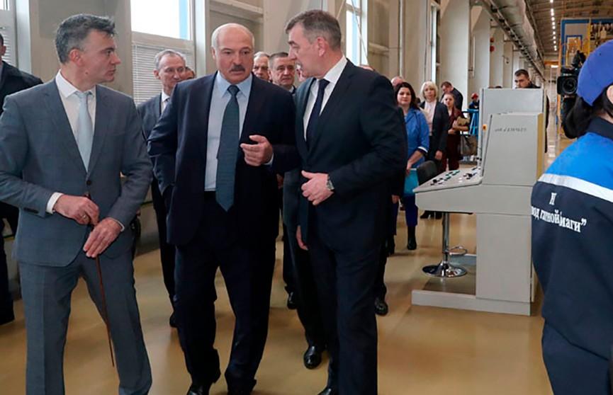 Лукашенко про «Могилёвхимволокно»: Вы должны четко определиться – что производим и куда сбываем продукцию