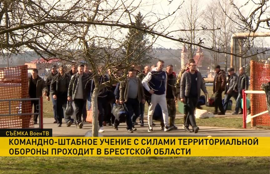 В Брестской области начались командно-штабные учения