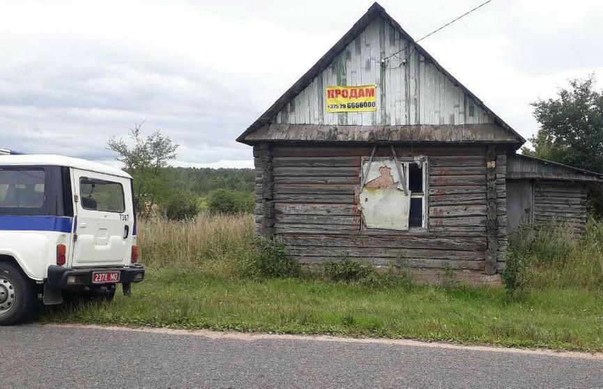Страшная находка: минчанин обнаружил человеческий скелет в заброшенном доме