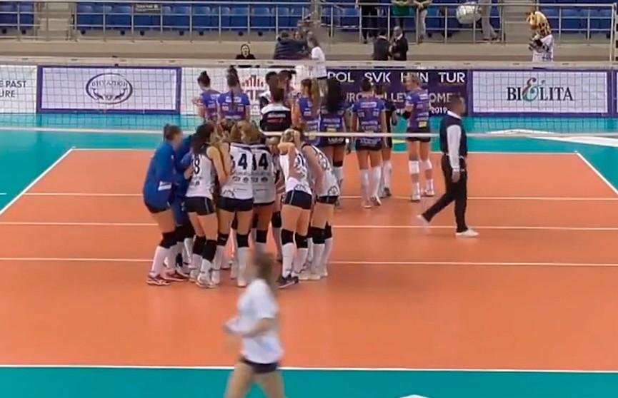 «Минчанка» против итальянской «Наварры: белорусским волейболисткам будет нелегко