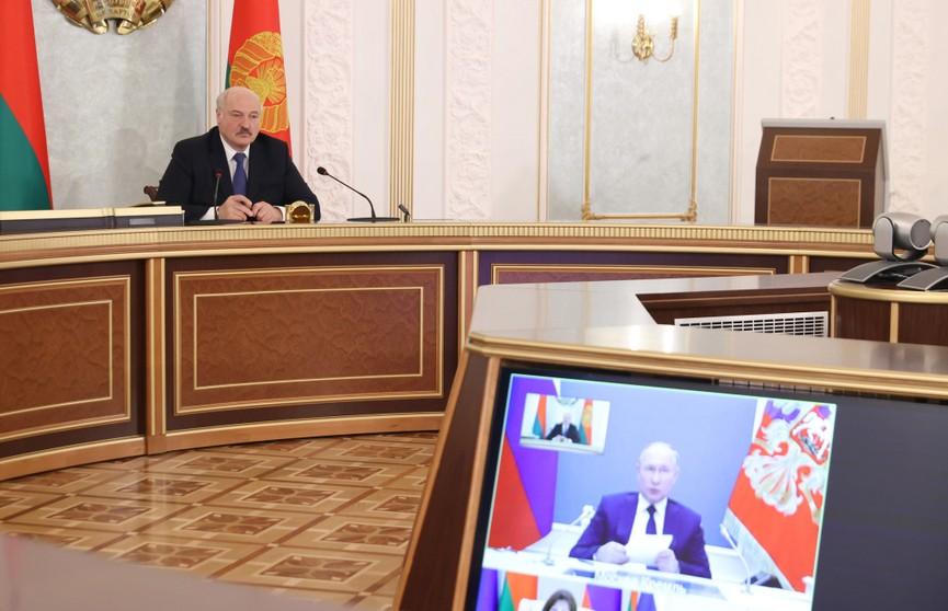 Лукашенко: Санкции – это попытки наложить лапу на человеческие и материальные ресурсы наших государств