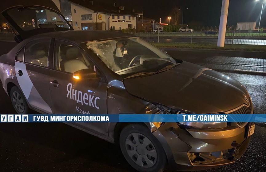 В Минске такси сбило насмерть мужчину
