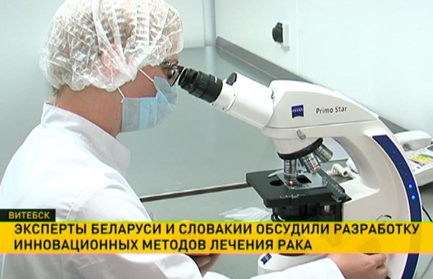 Белорусские и словацкие фармацевты будут вместе разрабатывать лекарства для борьбы с раком