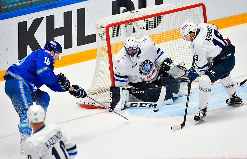 КХЛ: минское «Динамо» потерпело девятое поражение подряд, уступив «Барысу»