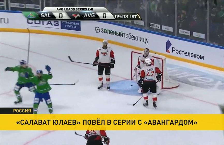В КХЛ продолжаются финальные матчи конференций