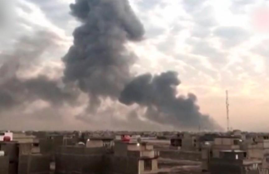 1 человек погиб, 29 пострадали в результате взрывов на территории армейских складов в Багдаде