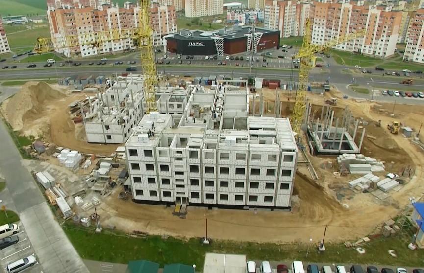 Новую поликлинику возводят в Гродно