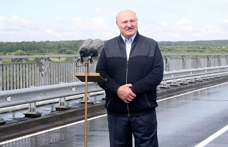 Александр Лукашенко с рабочей поездкой посетил Славгородский район Могилевской области