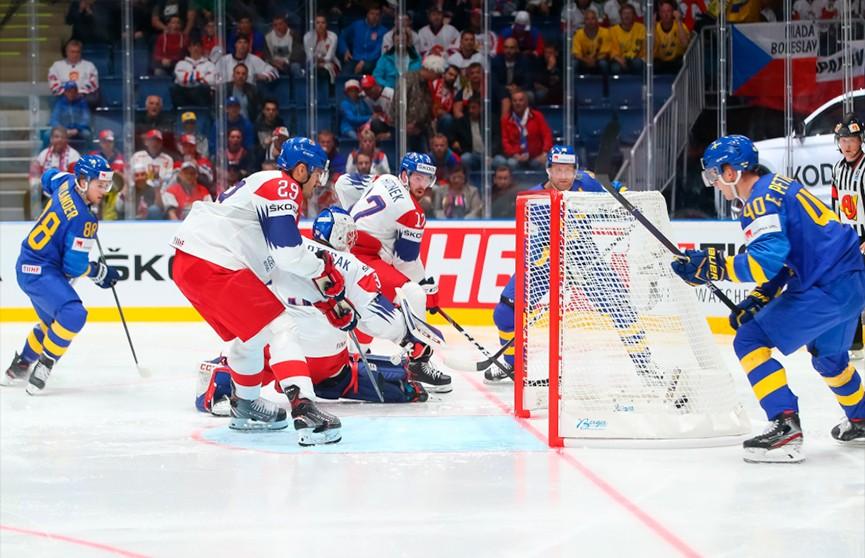 Чемпионат мира по хоккею: сборная Чехии обыграла шведов, а словаки были сильнее американцев